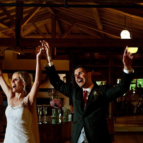 La felicidad de casarse en el Pazo de Vilaboa