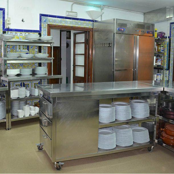 Galería de fotos de las cocinas del Pazo de Vilaboa